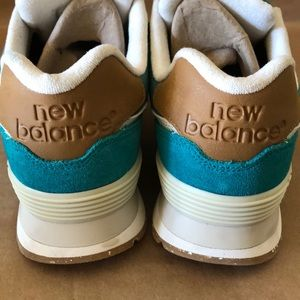 NWOB NEW BALANCE 574 Global Surf Sneakers Shoes 10